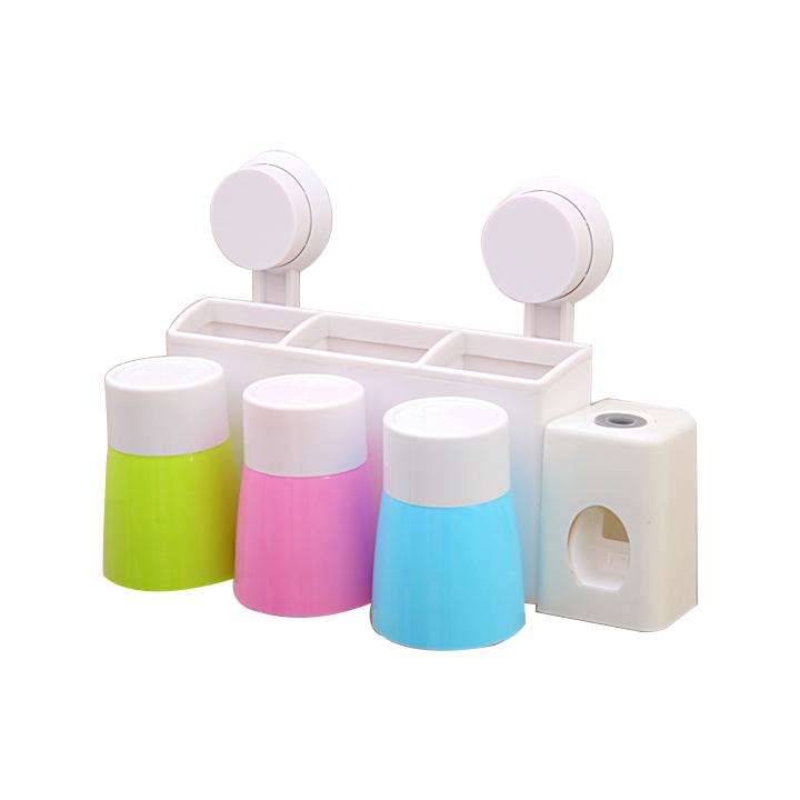 Kệ treo bàn chải kem đánh răng tự động 3 cốc CL - 1041297 , 7254209335095 , 62_3219739 , 260000 , Ke-treo-ban-chai-kem-danh-rang-tu-dong-3-coc-CL-62_3219739 , tiki.vn , Kệ treo bàn chải kem đánh răng tự động 3 cốc CL