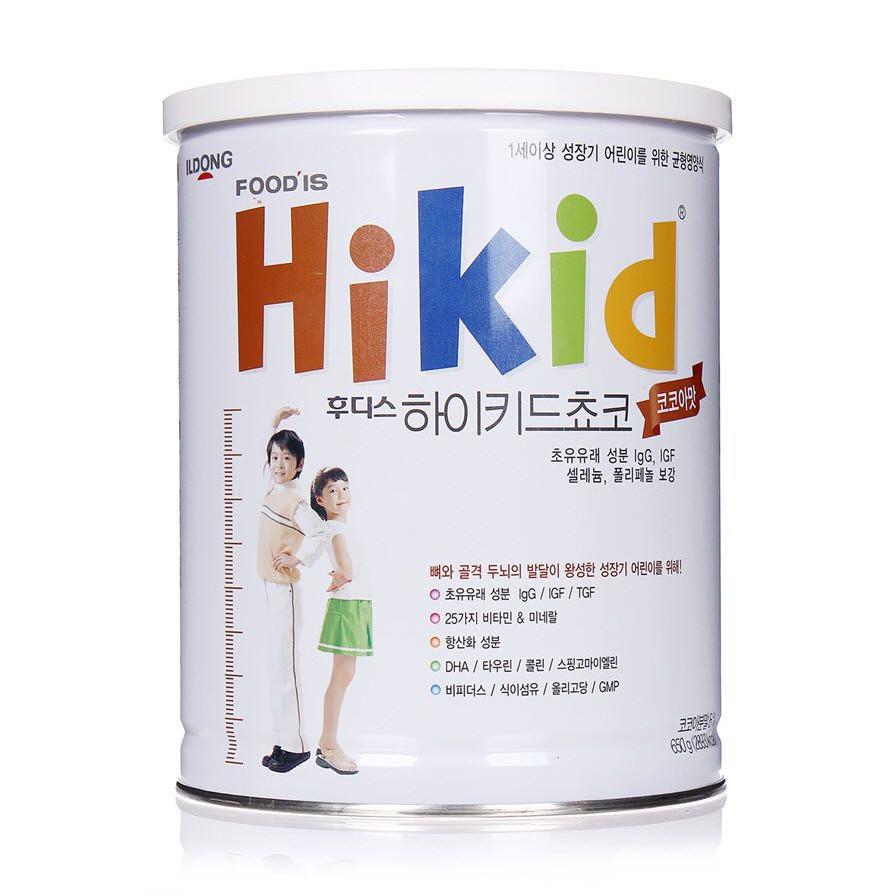 Bộ 3 Hộp Sữa Hikid vị Socola thơm ngon bổ dưỡng 650g - Hàng Nội địa Hàn - 20146565 , 6932388831270 , 62_27655306 , 2200000 , Bo-3-Hop-Sua-Hikid-vi-Socola-thom-ngon-bo-duong-650g-Hang-Noi-dia-Han-62_27655306 , tiki.vn , Bộ 3 Hộp Sữa Hikid vị Socola thơm ngon bổ dưỡng 650g - Hàng Nội địa Hàn