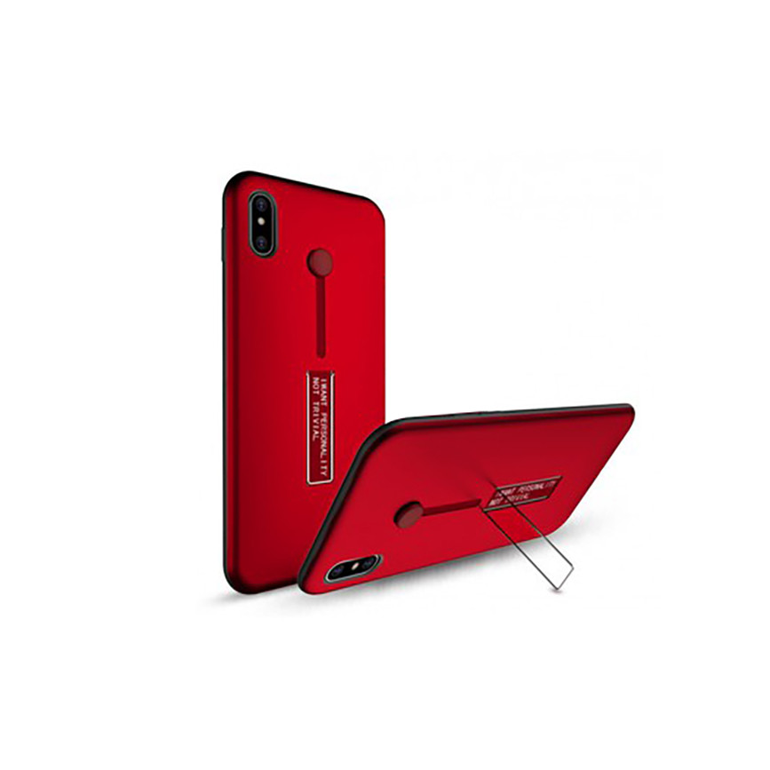 Óp lưng nhựa TPU iPhone X/ XS - Chống sốc Xỏ tay kèm Giá đỡ