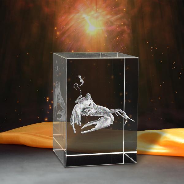 12 Cung Hoàng Đạo - Dựng Hình 3D bằng Pha Lê- quà tặng sinh nhật/trang trí