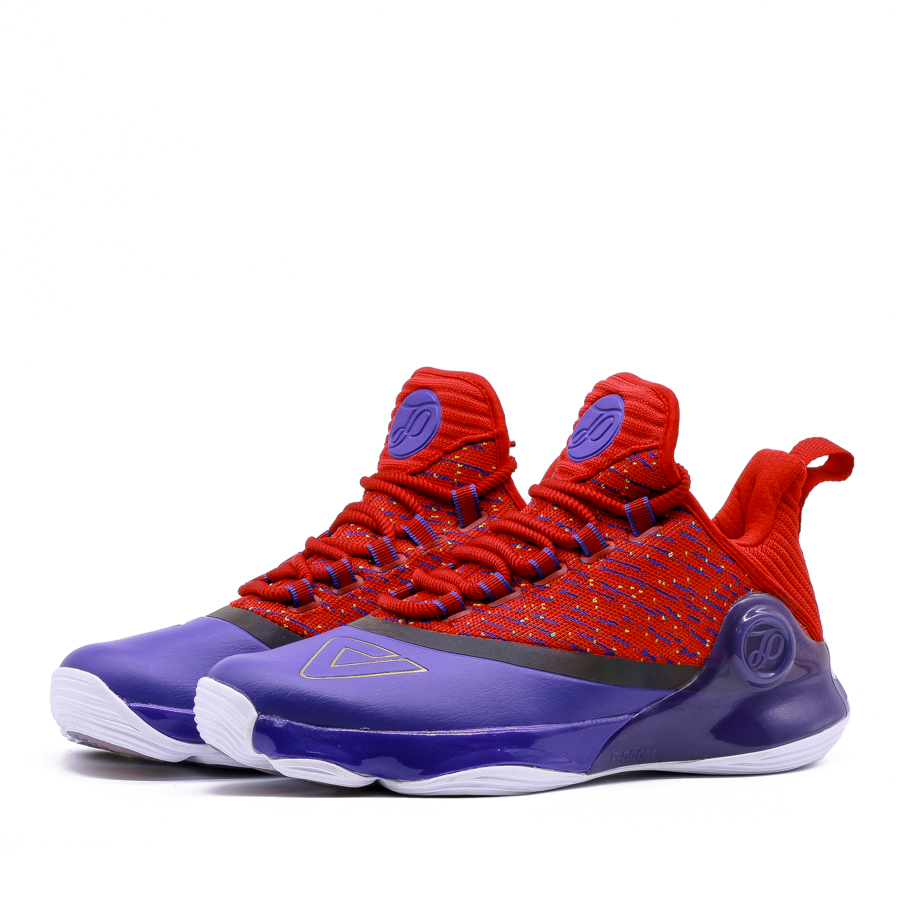 Giày bóng rổ PEAK Tony Parker VI E83323A - Tím Đỏ