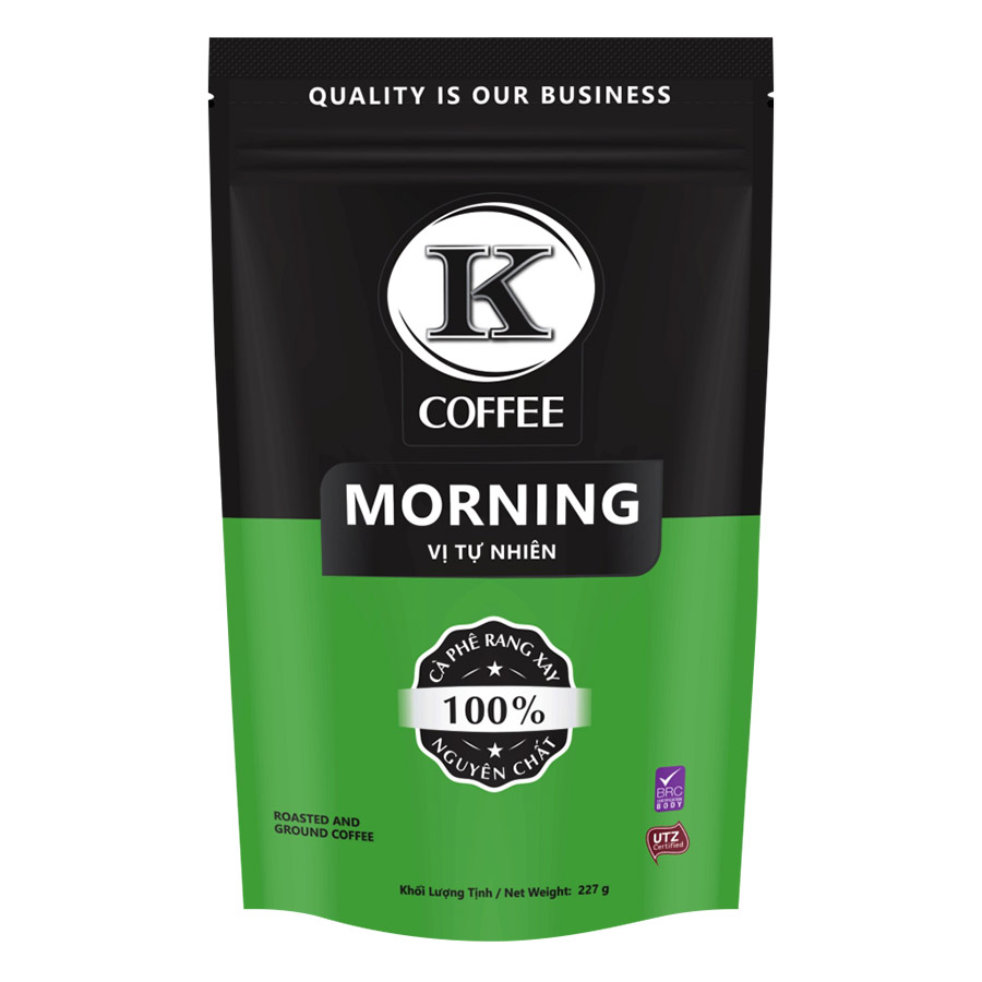 Cà Phê Rang Xay K-Coffee Morning (227g / Túi)