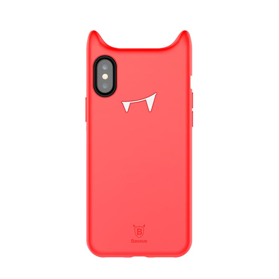 Ốp Lưng Nhựa Baseus Dành Cho iPhone X - Hình Quỷ Nhỏ - 869935 , 7845908961212 , 62_2936229 , 86000 , Op-Lung-Nhua-Baseus-Danh-Cho-iPhone-X-Hinh-Quy-Nho-62_2936229 , tiki.vn , Ốp Lưng Nhựa Baseus Dành Cho iPhone X - Hình Quỷ Nhỏ