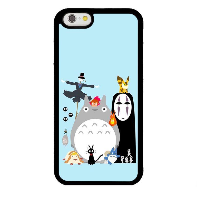 Ốp lưng dành cho điện thoại Iphone 6s Ghibli Nền Xanh