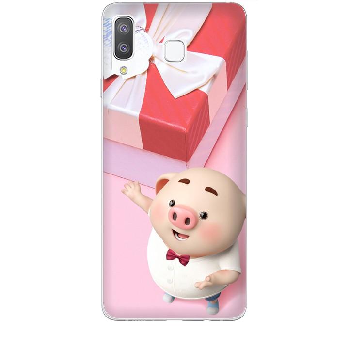 Ốp lưng dành cho điện thoại  SAMSUNG GALAXY A8 STAR Heo Con Đòi Quà