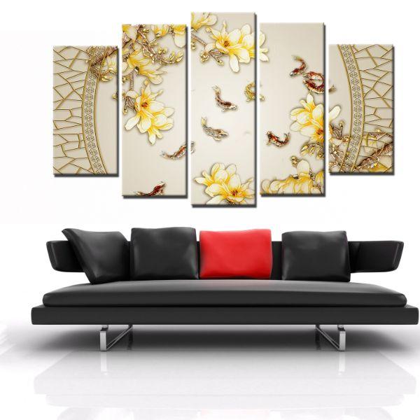 Tranh Canvas treo tường nghệ thuật | Bộ 5 bức | HLB_039 - 18707497 , 1386295455084 , 62_21662224 , 2200000 , Tranh-Canvas-treo-tuong-nghe-thuat-Bo-5-buc-HLB_039-62_21662224 , tiki.vn , Tranh Canvas treo tường nghệ thuật | Bộ 5 bức | HLB_039