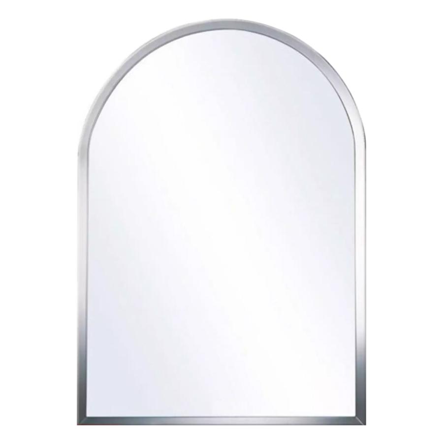 Gương Phòng Tắm Cao Cấp Viền Tròn (Kiếng Cường Lực 5mm) 105B (45 x 60 cm)