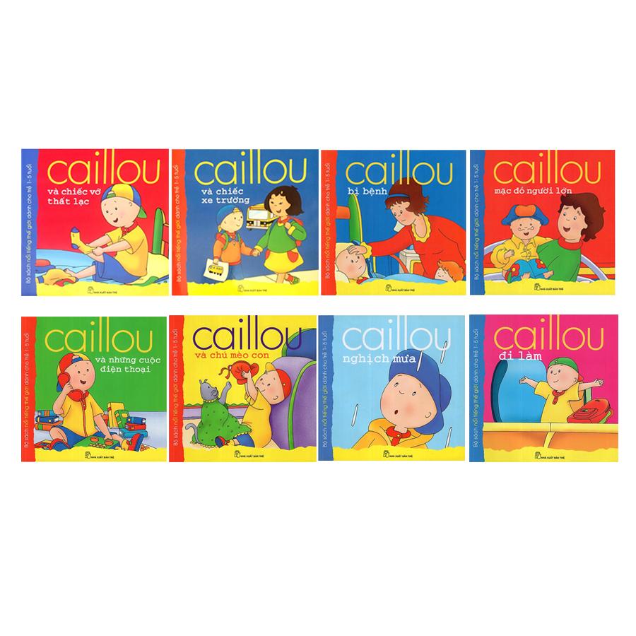 Combo Caillou (8 Cuốn) - 1543642 , 1600046079924 , 62_9983769 , 136000 , Combo-Caillou-8-Cuon-62_9983769 , tiki.vn , Combo Caillou (8 Cuốn)