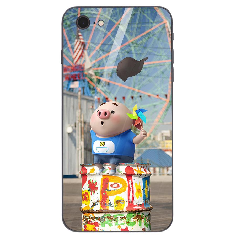 Ốp kính cường lực dành cho điện thoại iPhone 7/8 - heo hồng - hh166 - 1739281 , 1182875018201 , 62_13626996 , 205000 , Op-kinh-cuong-luc-danh-cho-dien-thoai-iPhone-7-8-heo-hong-hh166-62_13626996 , tiki.vn , Ốp kính cường lực dành cho điện thoại iPhone 7/8 - heo hồng - hh166
