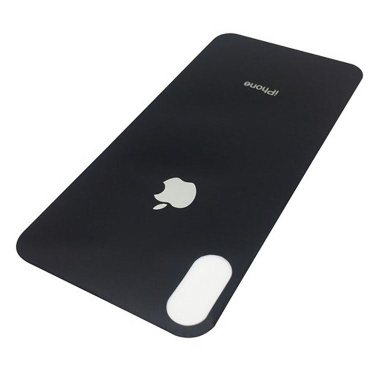 Kính cường lực mặt sau cho APPLE iPhone X (Màu Đen)