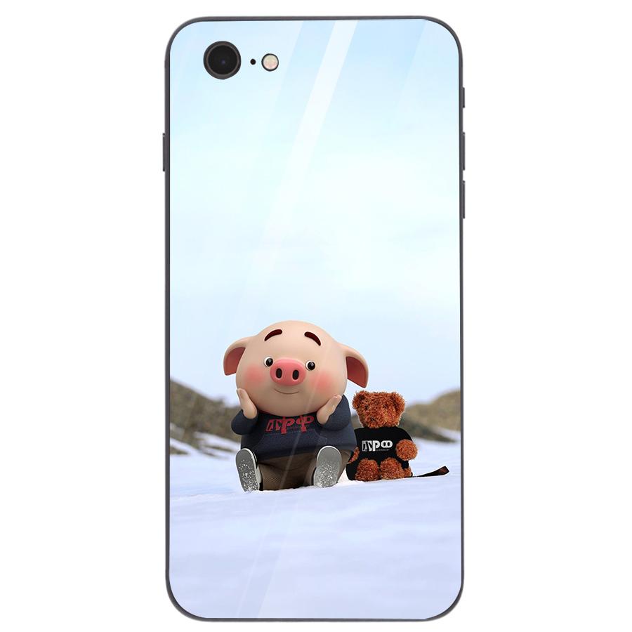 Ốp kính cường lực dành cho điện thoại iPhone 7/8 - heo hồng - hh108 - 1739269 , 4199362443139 , 62_13626241 , 207000 , Op-kinh-cuong-luc-danh-cho-dien-thoai-iPhone-7-8-heo-hong-hh108-62_13626241 , tiki.vn , Ốp kính cường lực dành cho điện thoại iPhone 7/8 - heo hồng - hh108