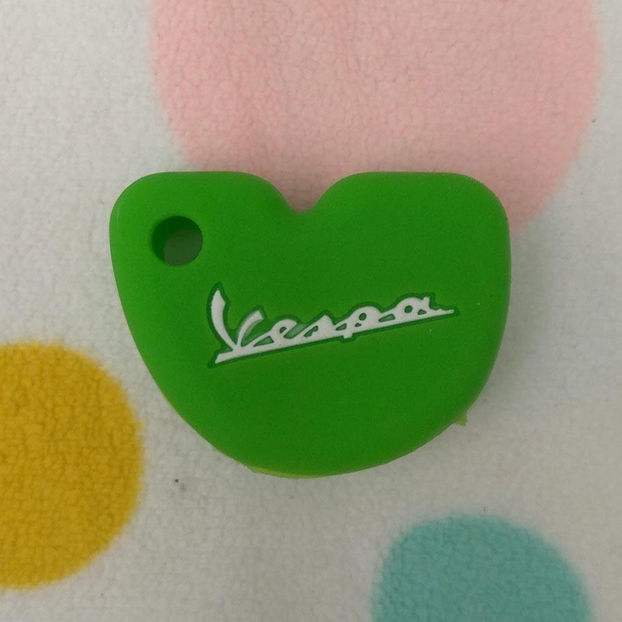 Bọc Silicon chìa khóa xe Vespa (Màu Xanh Lá)