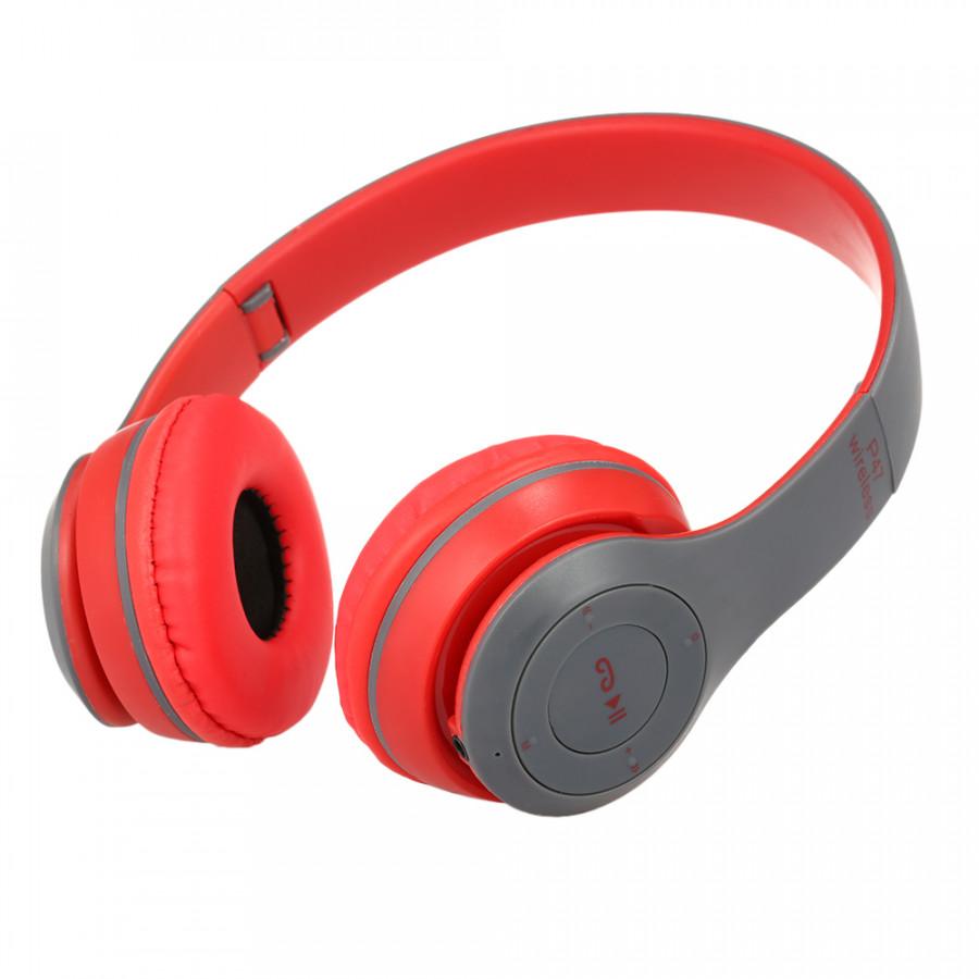Tai Nghe Bluetooth 4.1 Không Dây P47 Kèm Thẻ TF Đen Đỏ (3.5mm) - 18504069 , 4245994922266 , 62_19384479 , 320000 , Tai-Nghe-Bluetooth-4.1-Khong-Day-P47-Kem-The-TF-Den-Do-3.5mm-62_19384479 , tiki.vn , Tai Nghe Bluetooth 4.1 Không Dây P47 Kèm Thẻ TF Đen Đỏ (3.5mm)
