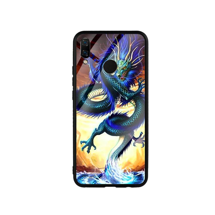 Ốp Lưng Kính Cường Lực cho điện thoại Huawei Nova 3i - Dragon 08