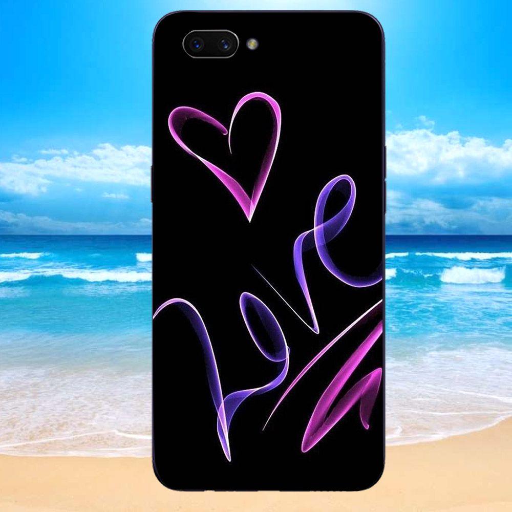 Ốp lưng điện thoại Oppo Realme C1 - TRAI TIM MS TTTY033-Hàng Chính Hãng Cao Cấp