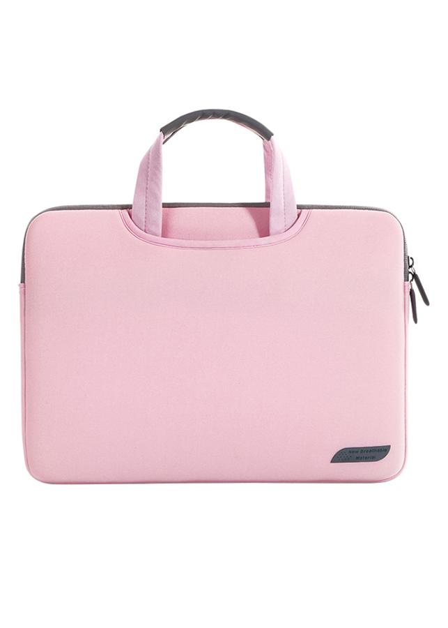 "Túi Laptop Đeo Vai Cartinoe Sleeves Breath Simplicity 15.4"" MIVIDA1103 - Hồng Nhạt"