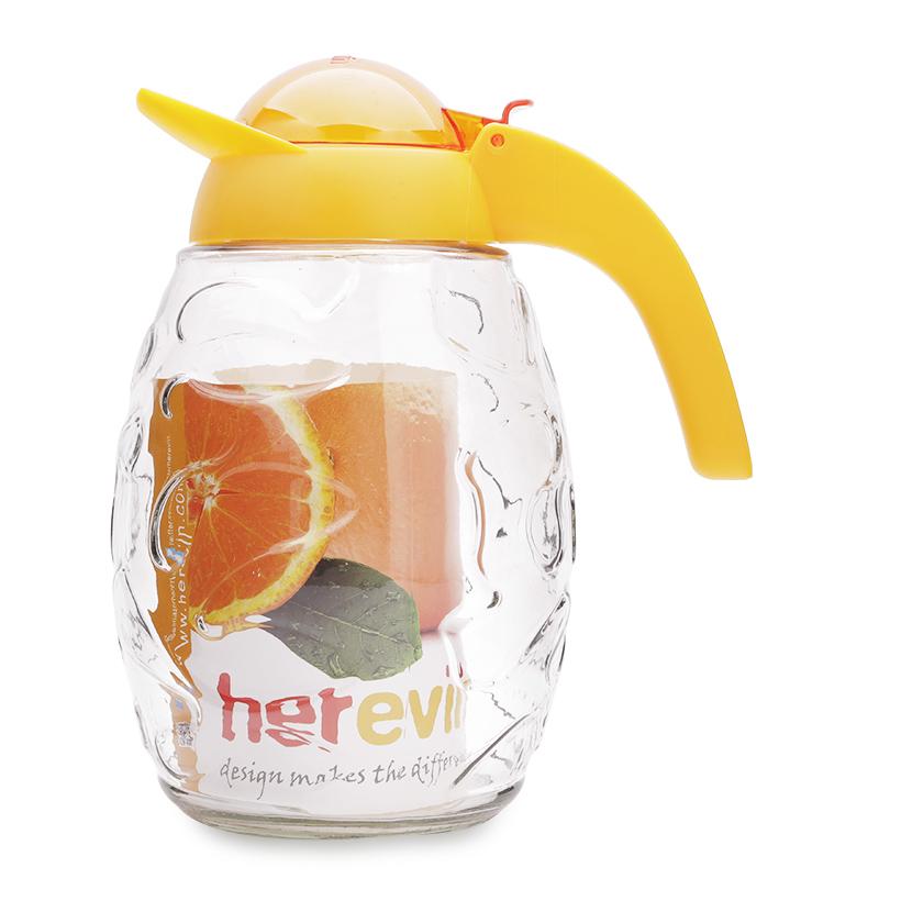 Bình đựng nước thủy tinh vân nổi HEREVIN 111542 1,6L (Nhiều màu)