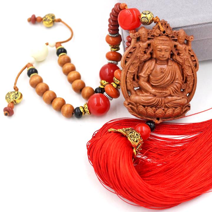 Dây Treo Phong Thủy Phật tổ Như lai 3D - Vật phẩm trang trí phong thủy