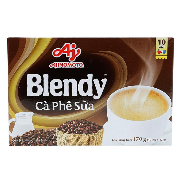Cà Phê Sữa Blendy (10 Gói x 17g) - 1539593 , 3463485777008 , 62_9732560 , 25200 , Ca-Phe-Sua-Blendy-10-Goi-x-17g-62_9732560 , tiki.vn , Cà Phê Sữa Blendy (10 Gói x 17g)