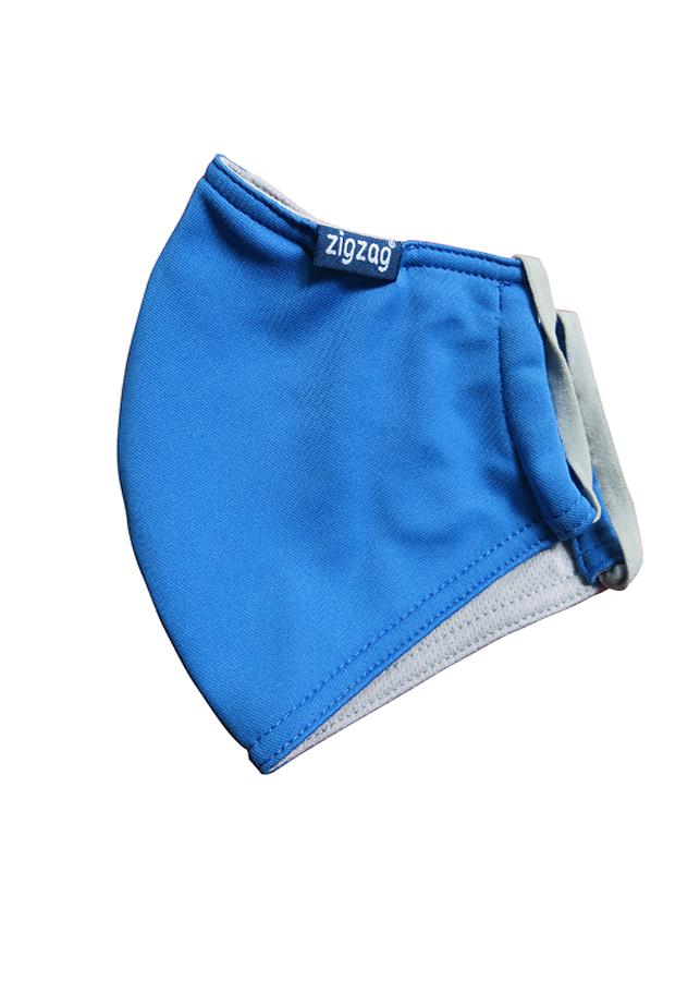 Khẩu trang chống nắng UPF50+ xanh da trời Zigzag MAS00107