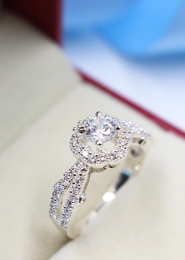 Nhẫn bạc nữ đẹp đính đá NN0170 - 1866716 , 2962681514062 , 62_10121667 , 450000 , Nhan-bac-nu-dep-dinh-da-NN0170-62_10121667 , tiki.vn , Nhẫn bạc nữ đẹp đính đá NN0170