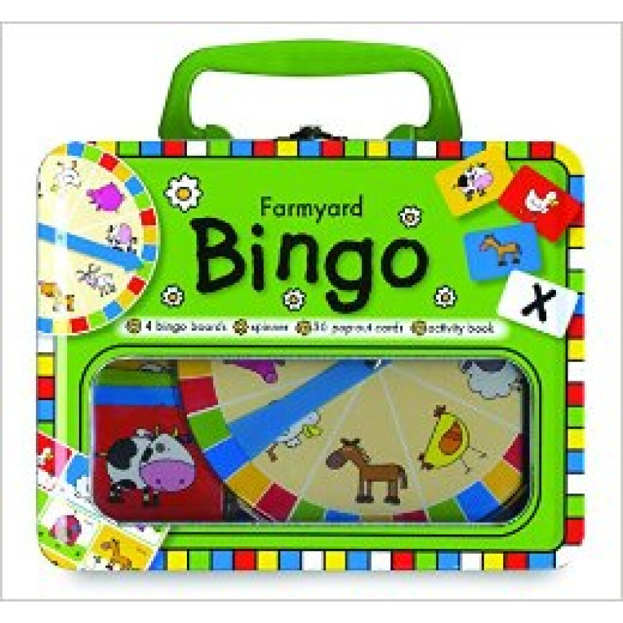 Lunchbox Learning Farmyard Bingo
