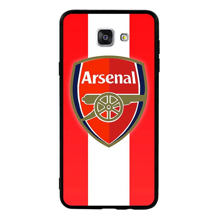 Ốp lưng nhựa cứng viền dẻo TPU cho Samsung Galaxy A9/A9 Pro  - Clb Arsenal 01