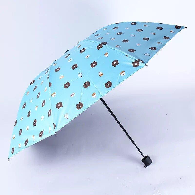 Ô dù đi mưa gấp gọn hình gấu Brown - 794520 , 6681697282913 , 62_11084627 , 150000 , O-du-di-mua-gap-gon-hinh-gau-Brown-62_11084627 , tiki.vn , Ô dù đi mưa gấp gọn hình gấu Brown