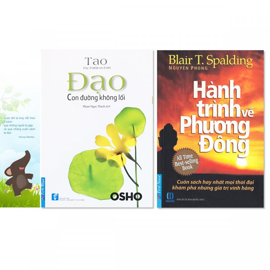 Combo 2 cuốn: Hành Trình Về Phương Đông +  Đạo - Con Đường Không Lối + Bookmark danh ngôn hình voi - 761496 , 8851245026049 , 62_8826665 , 166000 , Combo-2-cuon-Hanh-Trinh-Ve-Phuong-Dong-Dao-Con-Duong-Khong-Loi-Bookmark-danh-ngon-hinh-voi-62_8826665 , tiki.vn , Combo 2 cuốn: Hành Trình Về Phương Đông +  Đạo - Con Đường Không Lối + Bookmark danh ngôn