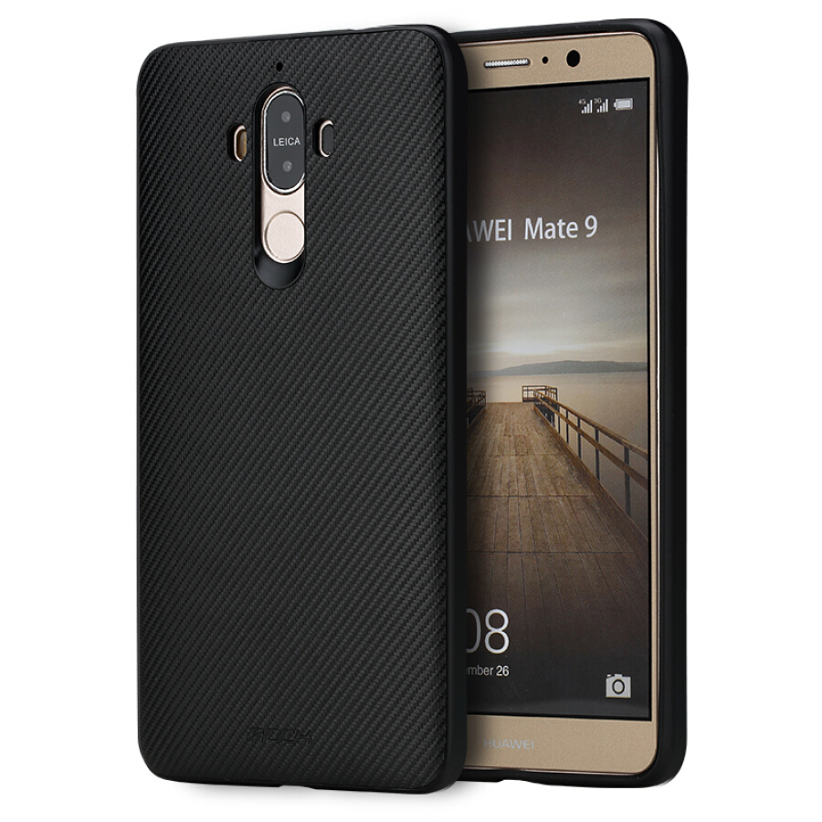 Ốp Lưng Silicon Cho Huawei Mate 9 ROCK - Đen