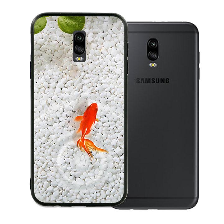 Ốp lưng viền TPU cao cấp dành cho Samsung Galaxy J7 Pro - Cá Koi 01