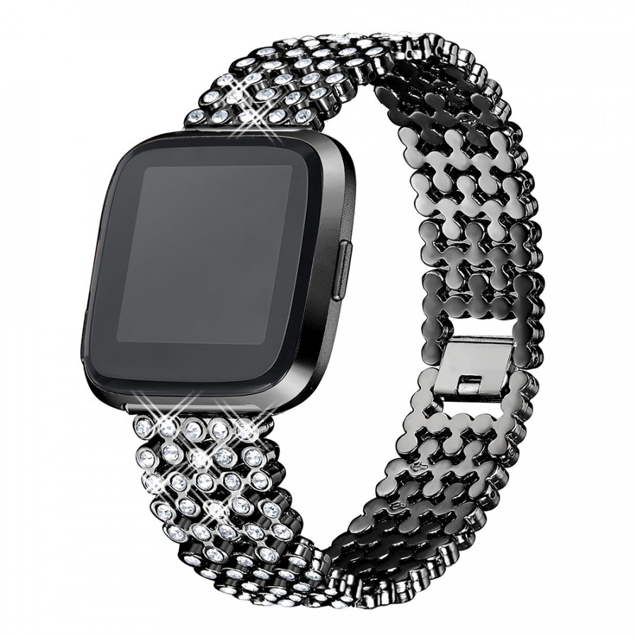 SDXHJ016 Watch Bracelet Fitbit Strap Classic Link Bracelet Replacement Wristband for Fitbit Versa with Rhinestones - 9864702 , 4054111173647 , 62_19337606 , 381000 , SDXHJ016-Watch-Bracelet-Fitbit-Strap-Classic-Link-Bracelet-Replacement-Wristband-for-Fitbit-Versa-with-Rhinestones-62_19337606 , tiki.vn , SDXHJ016 Watch Bracelet Fitbit Strap Classic Link Bracelet Rep