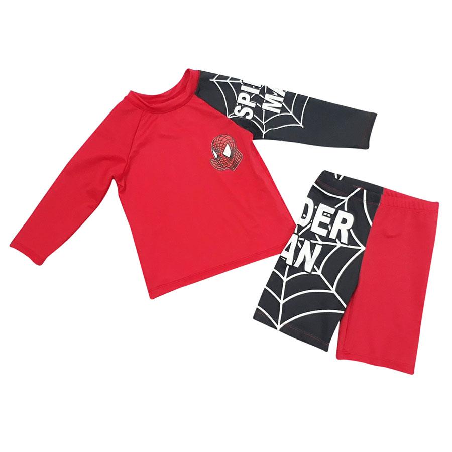 Bộ Đồ Bơi Tay Dài Bé Trai Spiderman BONCHOP BOIBT-115130 - 2120022 , 5167396132014 , 62_13459108 , 299000 , Bo-Do-Boi-Tay-Dai-Be-Trai-Spiderman-BONCHOP-BOIBT-115130-62_13459108 , tiki.vn , Bộ Đồ Bơi Tay Dài Bé Trai Spiderman BONCHOP BOIBT-115130
