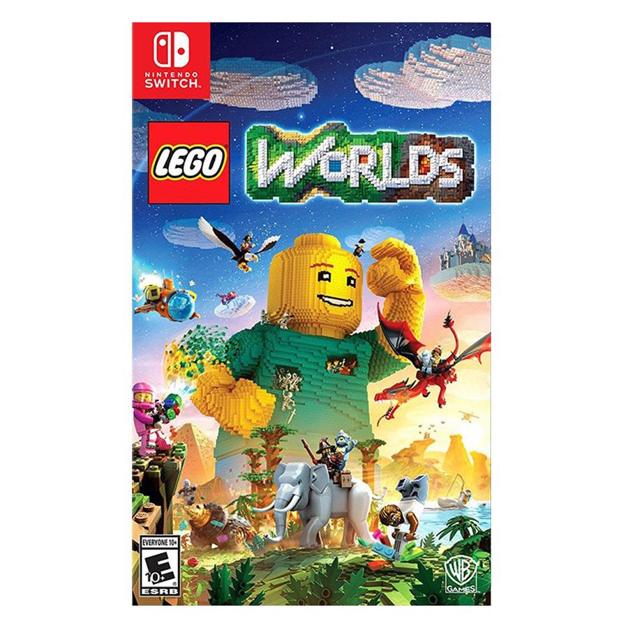 Đĩa Game Nintendo Switch Lego Worlds