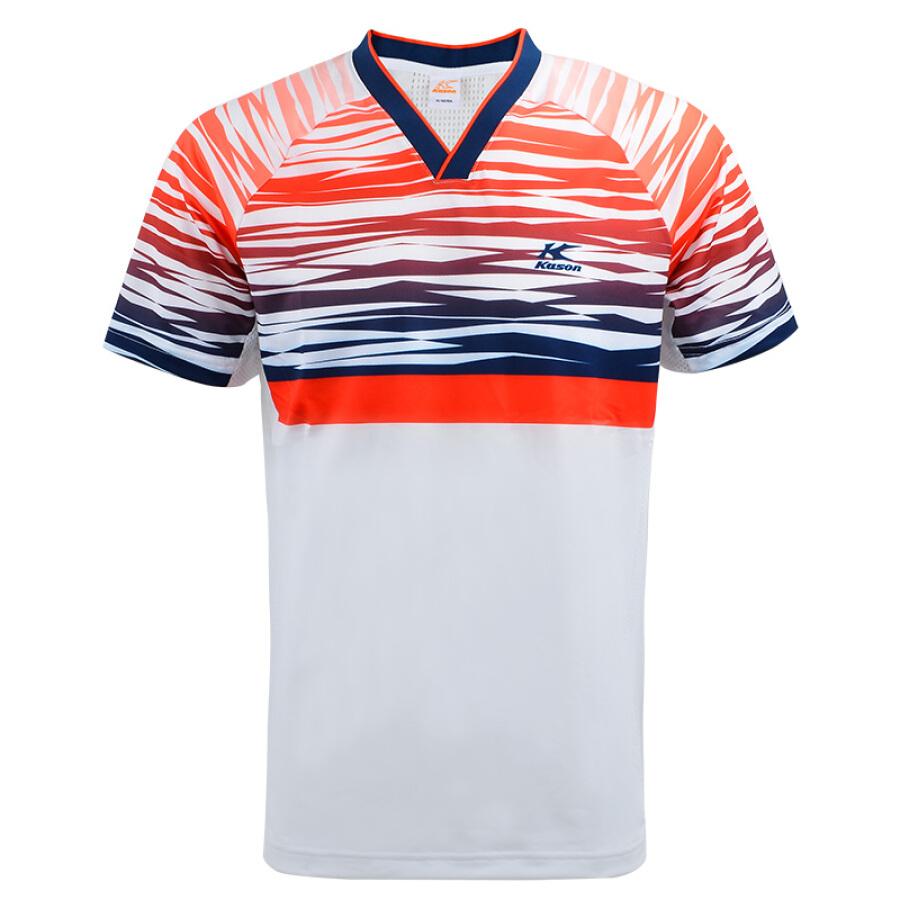 Kason KASON breathable V-neck sportswear badminton wear men