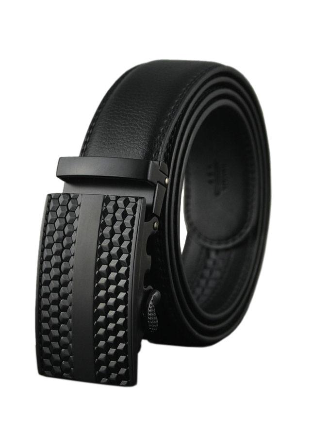 Thắt Lưng Nam Cao Cấp AT Leather P101 - Đen