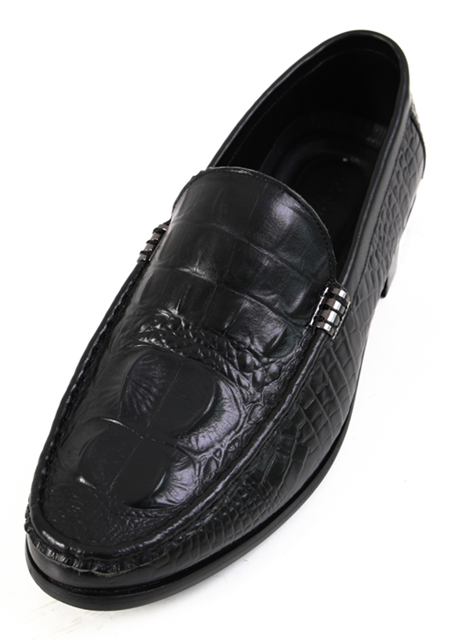 Giày Mọi Da Nam Loafer Ftt Leather - Đen