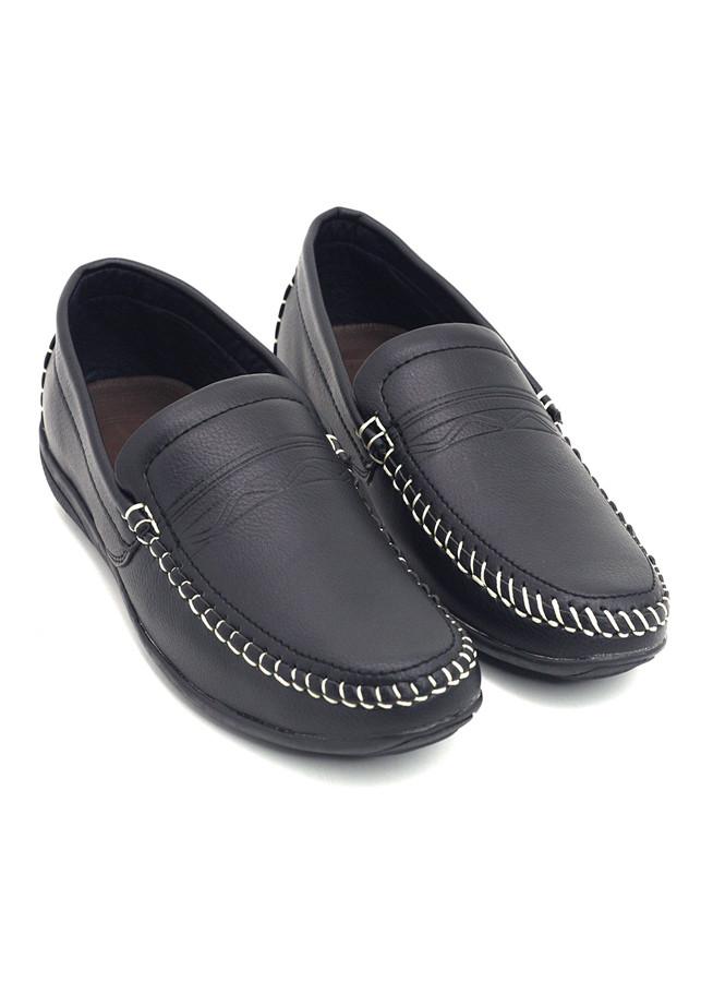 Giày mọi nam, giày da lười nam cao cấp cổ điển Thời Trang Everest (B37-B38)