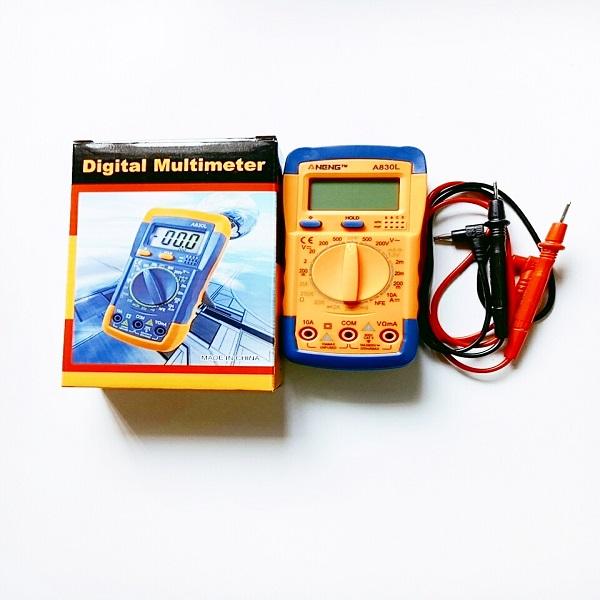Đồng hồ đo điện vạn năng cao cấp dành cho thợ điện A830L ( có đèn màn hình tặng bin) - 1728064 , 9083429248360 , 62_12057424 , 250000 , Dong-ho-do-dien-van-nang-cao-cap-danh-cho-tho-dien-A830L-co-den-man-hinh-tang-bin-62_12057424 , tiki.vn , Đồng hồ đo điện vạn năng cao cấp dành cho thợ điện A830L ( có đèn màn hình tặng bin)