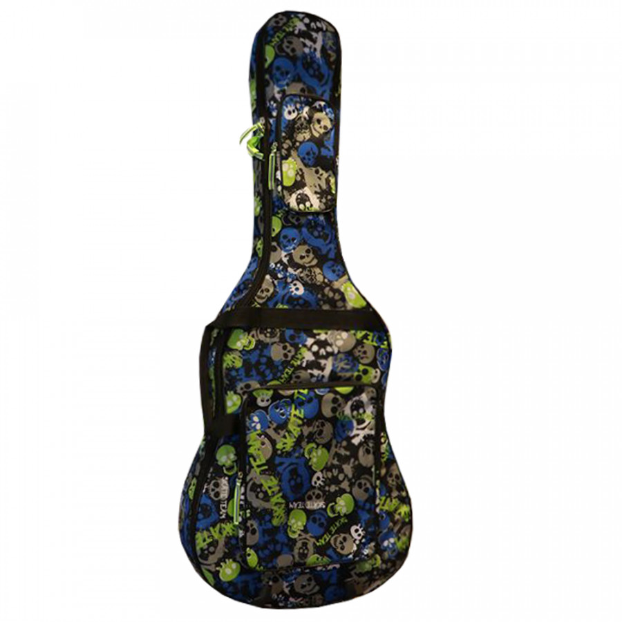 Bao Đàn Guitar 3 Lớp Custom - SKULL - 775227 , 6601810853875 , 62_11081598 , 350000 , Bao-Dan-Guitar-3-Lop-Custom-SKULL-62_11081598 , tiki.vn , Bao Đàn Guitar 3 Lớp Custom - SKULL