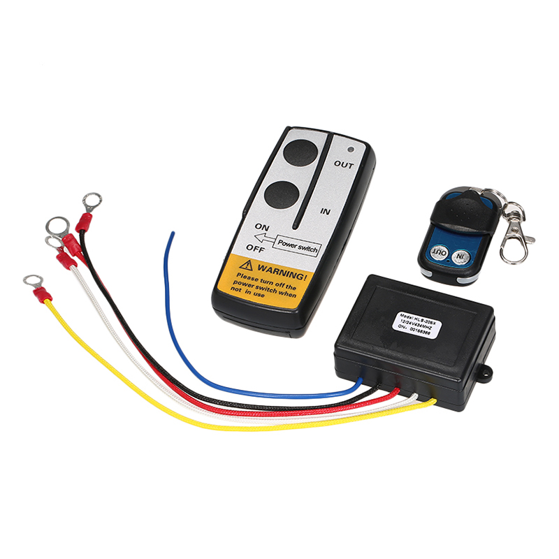 Winch 12V 50ft Wireless Winch Remote Control Kit 12V Switch Handset for Jeep Truck SUV ATV - 815722 , 1788196066480 , 62_15190668 , 508000 , Winch-12V-50ft-Wireless-Winch-Remote-Control-Kit-12V-Switch-Handset-for-Jeep-Truck-SUV-ATV-62_15190668 , tiki.vn , Winch 12V 50ft Wireless Winch Remote Control Kit 12V Switch Handset for Jeep Truck SUV