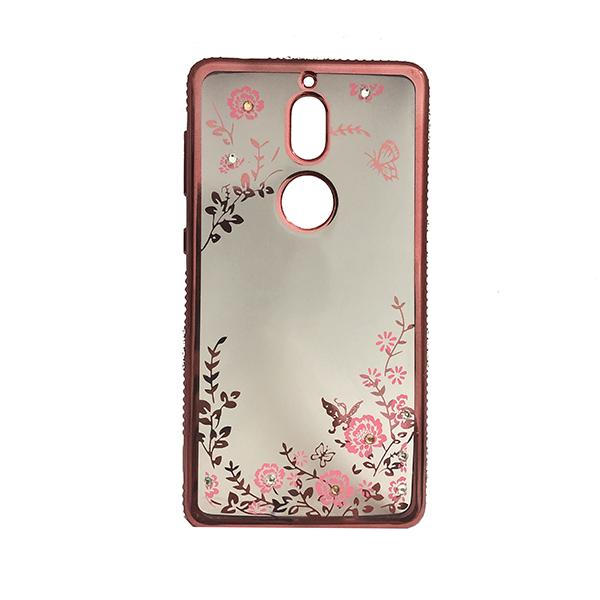 Ốp Lưng Họa Tiết Dành Cho Điện Thoại Nokia 7 - Viền Đỏ