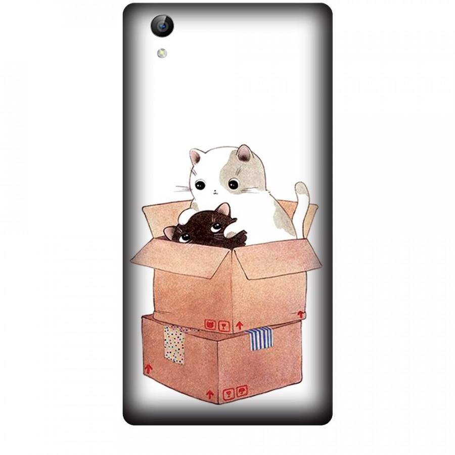 Ốp lưng dành cho điện thoại VIVO Y51 Mèo Con Dễ Thương