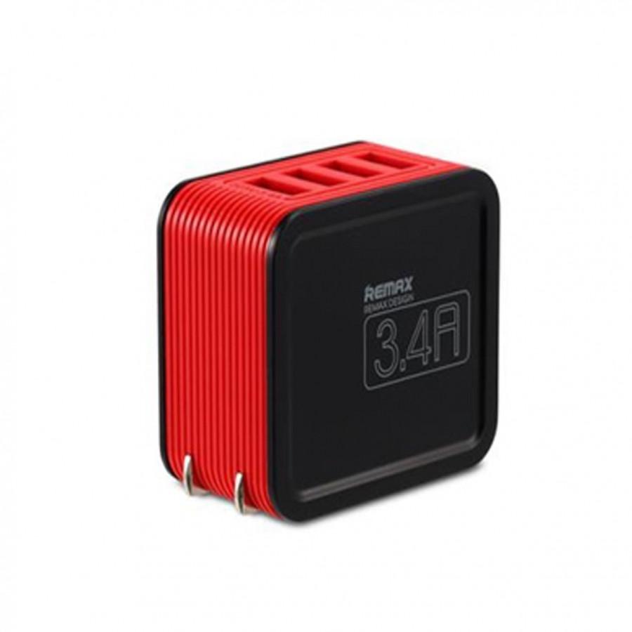 CỦ SẠC 4 CỔNG USB 3.4A Remax RB-U40 - Sạc Nhanh - Chính Hãng - 2253846 , 6764366069623 , 62_14450170 , 599000 , CU-SAC-4-CONG-USB-3.4A-Remax-RB-U40-Sac-Nhanh-Chinh-Hang-62_14450170 , tiki.vn , CỦ SẠC 4 CỔNG USB 3.4A Remax RB-U40 - Sạc Nhanh - Chính Hãng