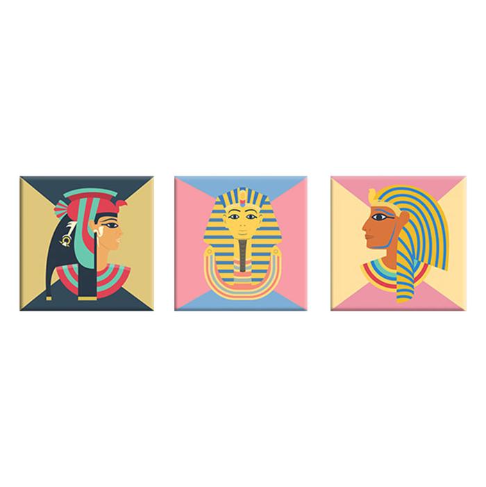 "Bộ 3 Tranh Canvas ""Egypt""- W144"