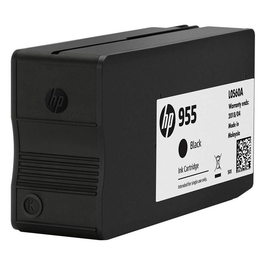 Mực in Phun HP 955 Đen (Máy in HP OfficeJet Pro 8210/8216/HP OfficeJet Pro 8720 All-in-One/8730/8740/8710/HP OfficeJet Pro 7740 WF AiO/HP...