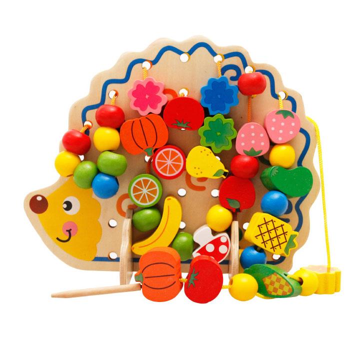 Nhím Hoa quá đồ chơi sỗ sâu hạt đồ chơi giáo dục