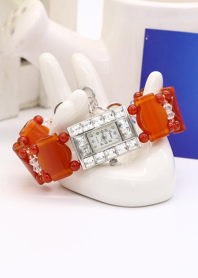 Đồng Hồ Nữ Đá Mã Não Đỏ DHN20 Bảo Ngọc Jewelry - 786709 , 6905194901154 , 62_12032887 , 1110000 , Dong-Ho-Nu-Da-Ma-Nao-Do-DHN20-Bao-Ngoc-Jewelry-62_12032887 , tiki.vn , Đồng Hồ Nữ Đá Mã Não Đỏ DHN20 Bảo Ngọc Jewelry