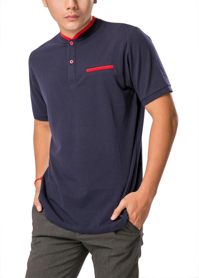 Áo Thun Polo Nam F2 Fashion F2-POM-T238 - Xanh Đen