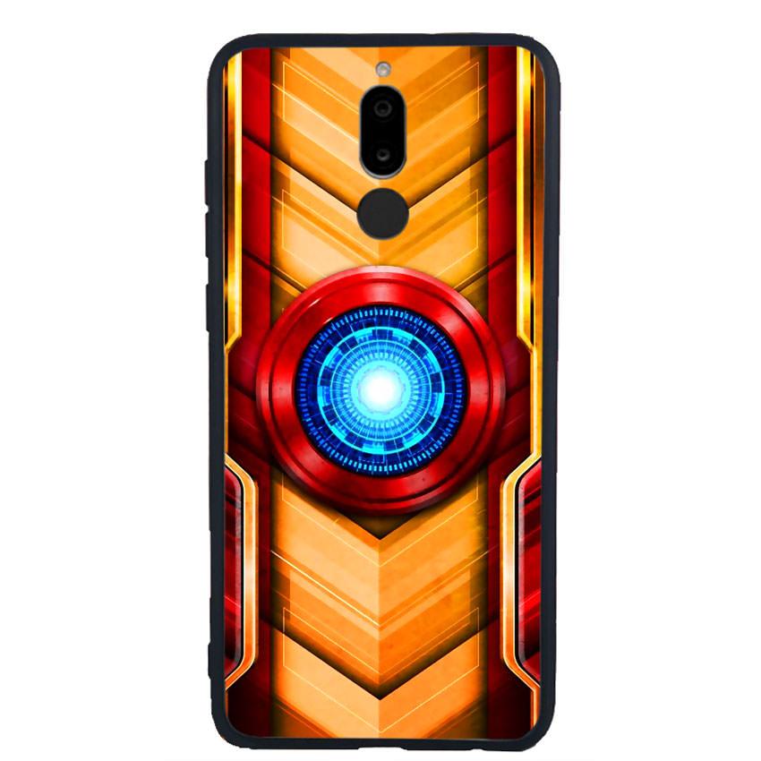 Ốp Lưng Viền TPU cho điện thoại Huawei Nova 2i - Iron Man 01